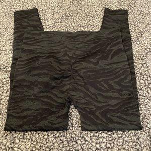 Gymshark zebra leggings